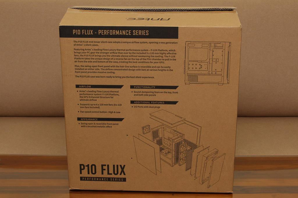 安鈦克Antec P10 FLUX靜音機殼-獨創F-LUX風流架構,靜冷再升級3104
