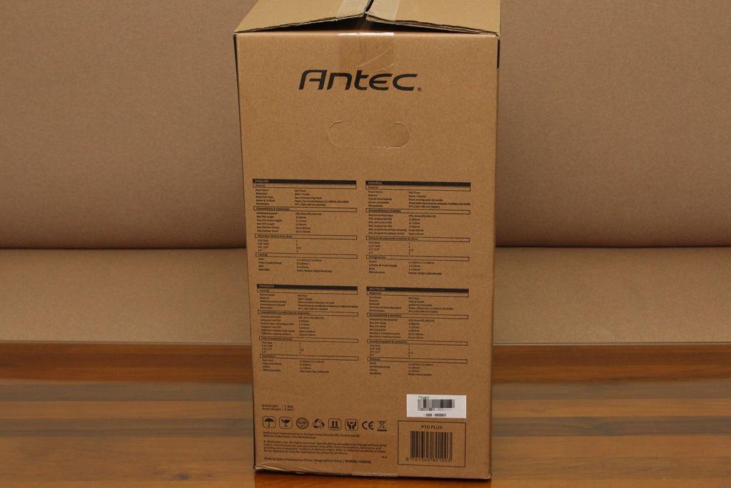 安鈦克Antec P10 FLUX靜音機殼-獨創F-LUX風流架構,靜冷再升級3960
