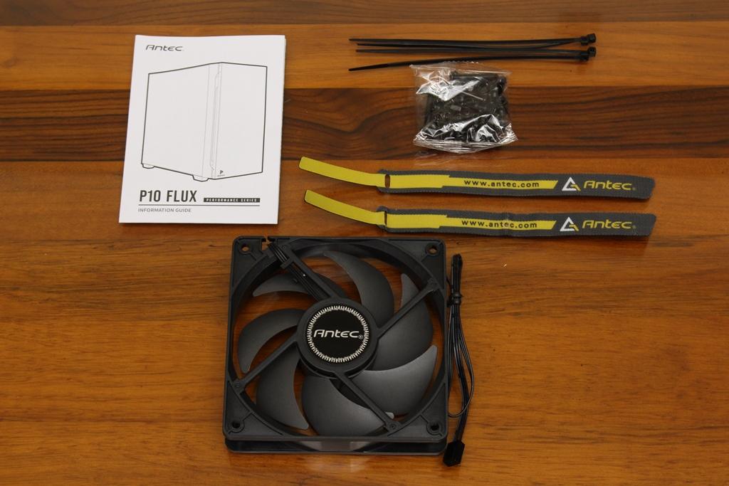 安鈦克Antec P10 FLUX靜音機殼-獨創F-LUX風流架構,靜冷再升級5671