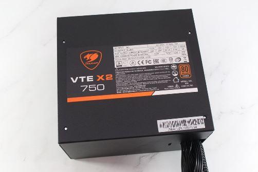 美洲獅COUGAR VTE X2 750W 80PLUS銅牌電源供應器-單路12V輸出與DC...8934