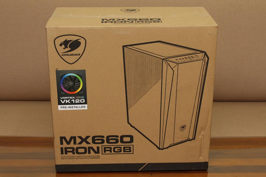美洲獅COUGAR MX660 Iron RGB中塔機殼-陽剛造型搭配鋼化玻璃透...9184