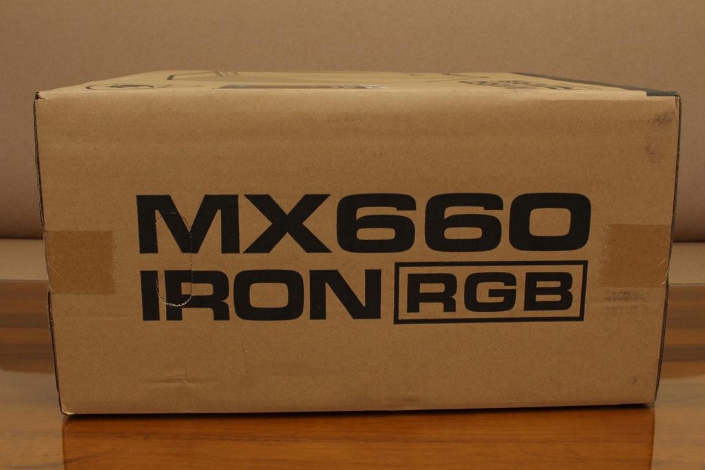 美洲獅COUGAR MX660 Iron RGB中塔機殼-陽剛造型搭配鋼化玻璃透...9764