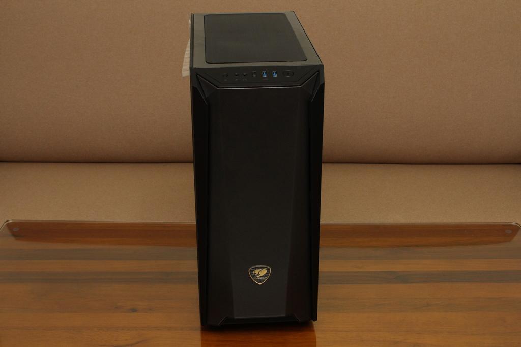 美洲獅COUGAR MX660 Iron RGB中塔機殼-陽剛造型搭配鋼化玻璃透...4080