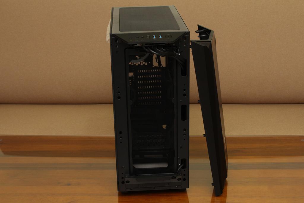 美洲獅COUGAR MX660 Iron RGB中塔機殼-陽剛造型搭配鋼化玻璃透...7036