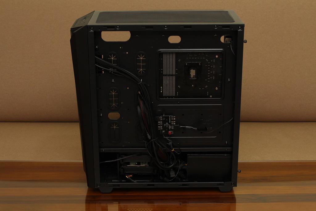美洲獅COUGAR MX660 Iron RGB中塔機殼-陽剛造型搭配鋼化玻璃透...6571