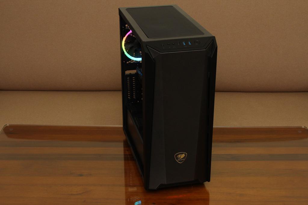 美洲獅COUGAR MX660 Iron RGB中塔機殼-陽剛造型搭配鋼化玻璃透...6447