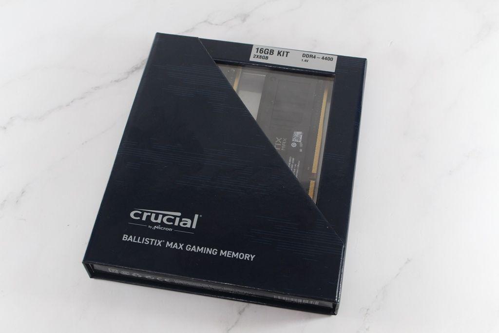 Crucial Ballistix MAX DDR4-4400電競記憶體-輕鬆獲得高頻率效能...2651