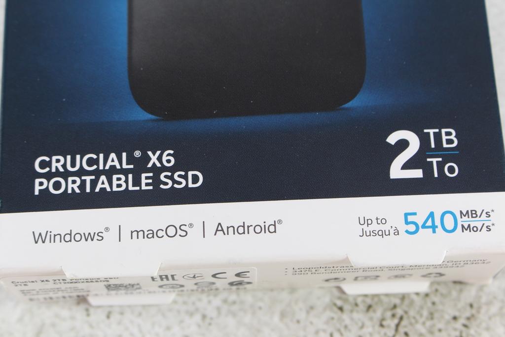 Crucial X6 Portable SSD外接式固態硬碟-輕巧體積小,超大容量2...2577