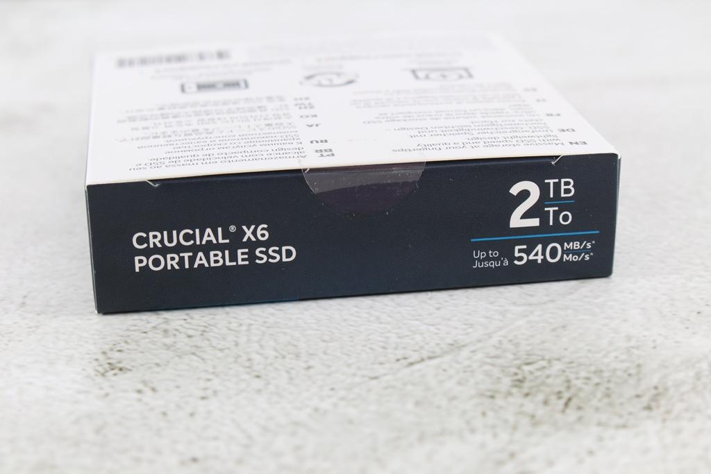 Crucial X6 Portable SSD外接式固態硬碟-輕巧體積小,超大容量2...1680