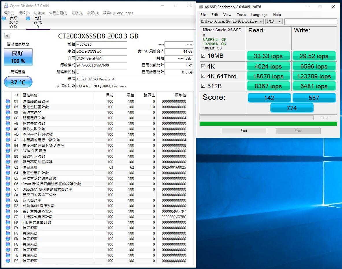 Crucial X6 Portable SSD外接式固態硬碟-輕巧體積小,超大容量2...2375