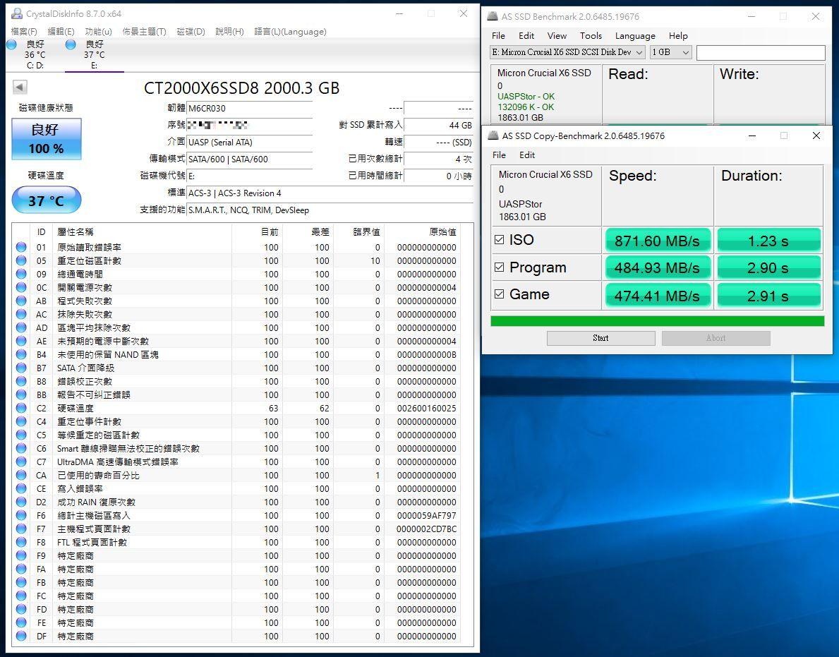 Crucial X6 Portable SSD外接式固態硬碟-輕巧體積小,超大容量2...5004