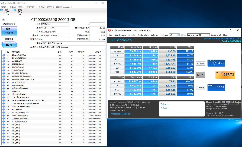 Crucial X6 Portable SSD外接式固態硬碟-輕巧體積小,超大容量2...8076