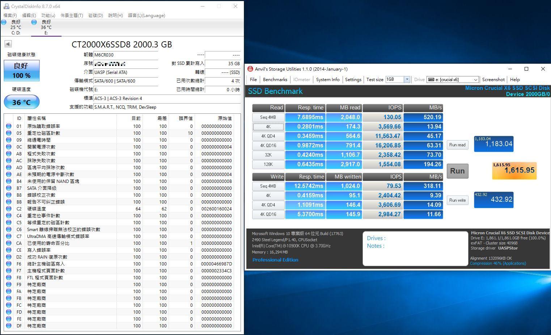 Crucial X6 Portable SSD外接式固態硬碟-輕巧體積小,超大容量2...9386