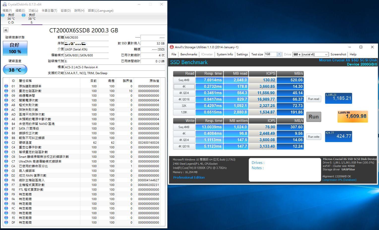 Crucial X6 Portable SSD外接式固態硬碟-輕巧體積小,超大容量2...6325