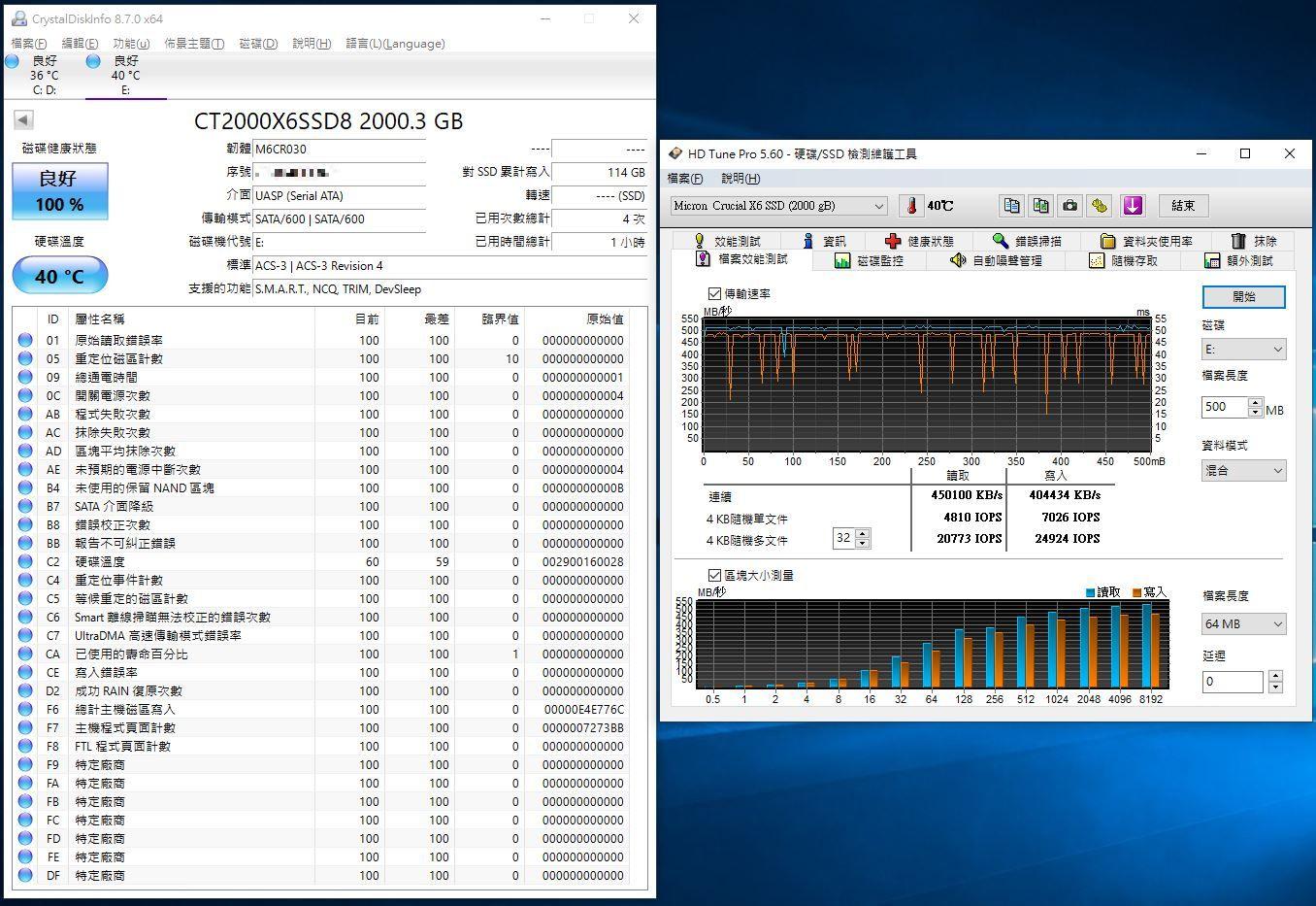 Crucial X6 Portable SSD外接式固態硬碟-輕巧體積小,超大容量2...5727