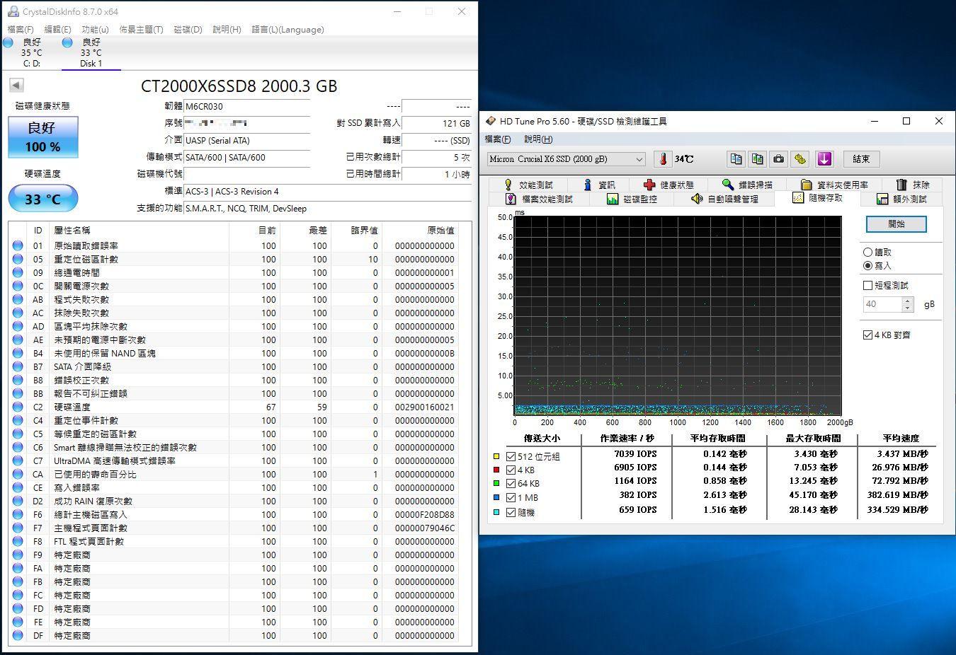 Crucial X6 Portable SSD外接式固態硬碟-輕巧體積小,超大容量2...6122