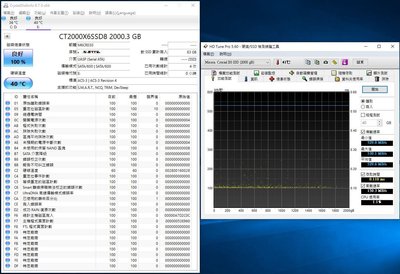 Crucial X6 Portable SSD外接式固態硬碟-輕巧體積小,超大容量2...9042