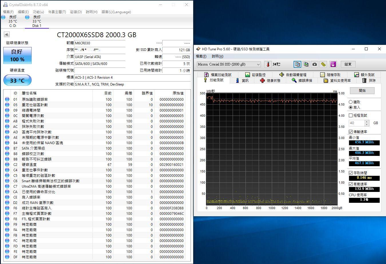 Crucial X6 Portable SSD外接式固態硬碟-輕巧體積小,超大容量2...8909