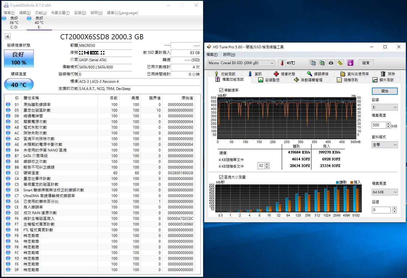 Crucial X6 Portable SSD外接式固態硬碟-輕巧體積小,超大容量2...61