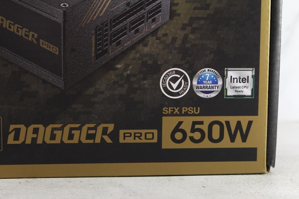 全漢FSP DAGGER PRO金鋼彈650W 80PLUS金牌全模組化SFX電源供應器...6115