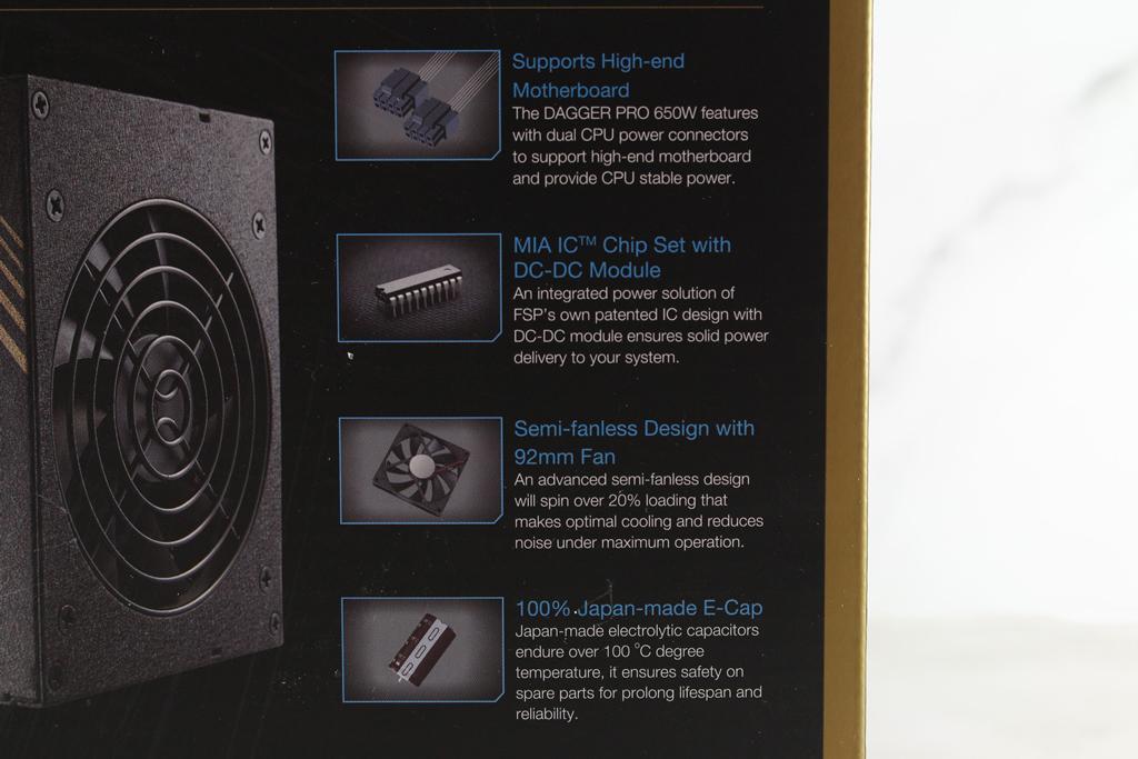 全漢FSP DAGGER PRO金鋼彈650W 80PLUS金牌全模組化SFX電源供應器...4416