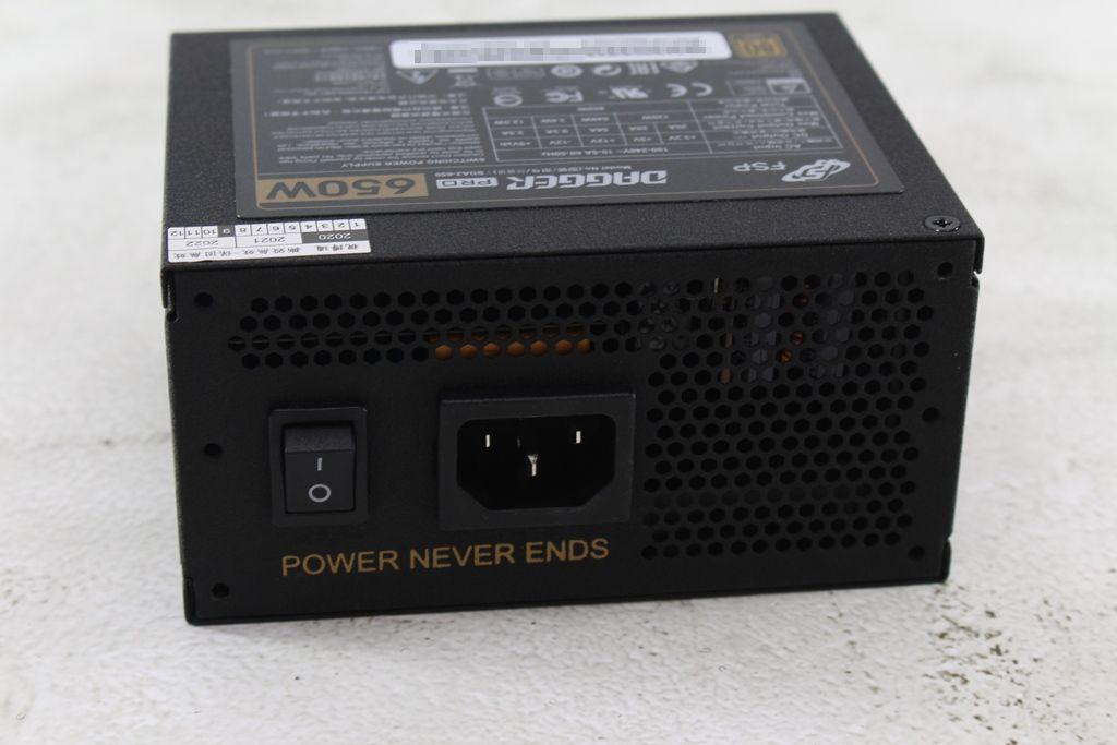 全漢FSP DAGGER PRO金鋼彈650W 80PLUS金牌全模組化SFX電源供應器...4707