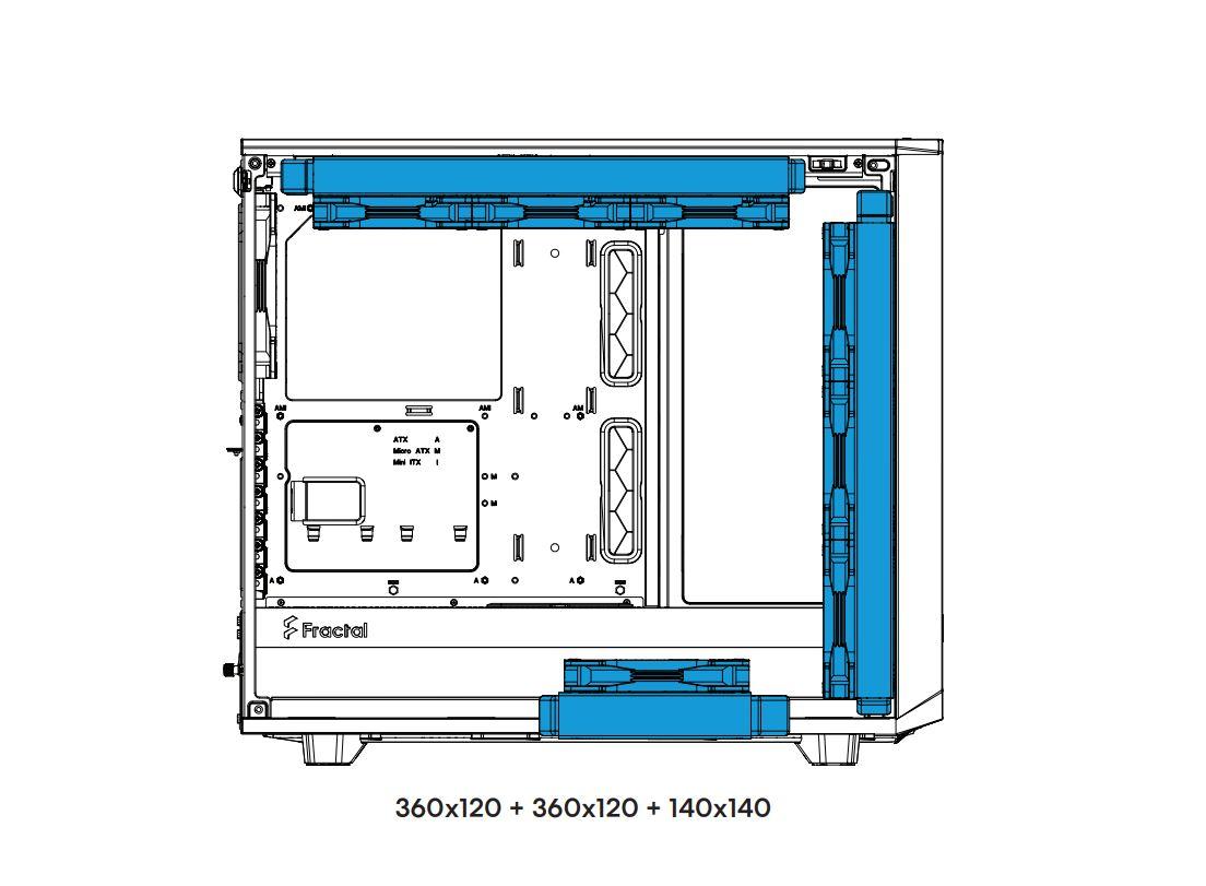 Fractal Design Meshify 2 TG鋼化玻璃透測機殼-幾何立體面板搭配...5648