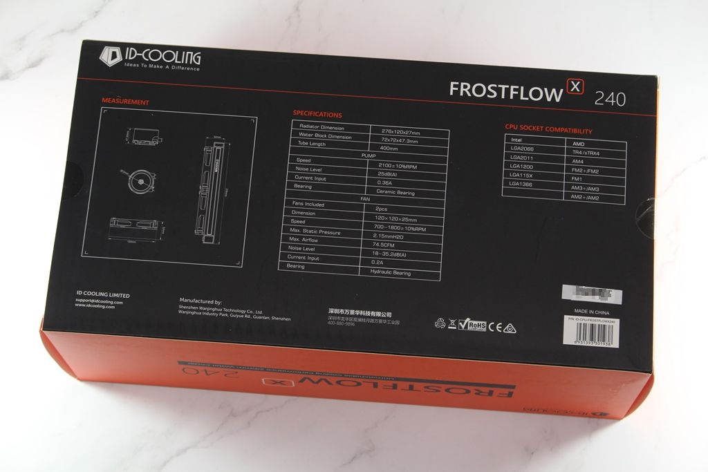ID-COOLING FROSTFLOW X 240一體式水冷散熱器-低光害又擁有優質...6127