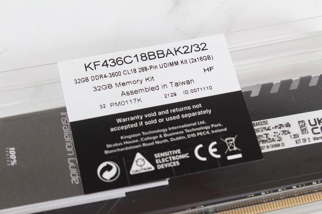 金士頓Kingston FURY BEAST DDR4 RGB電競記憶體-大容量高效能,遊戲體驗有感提升