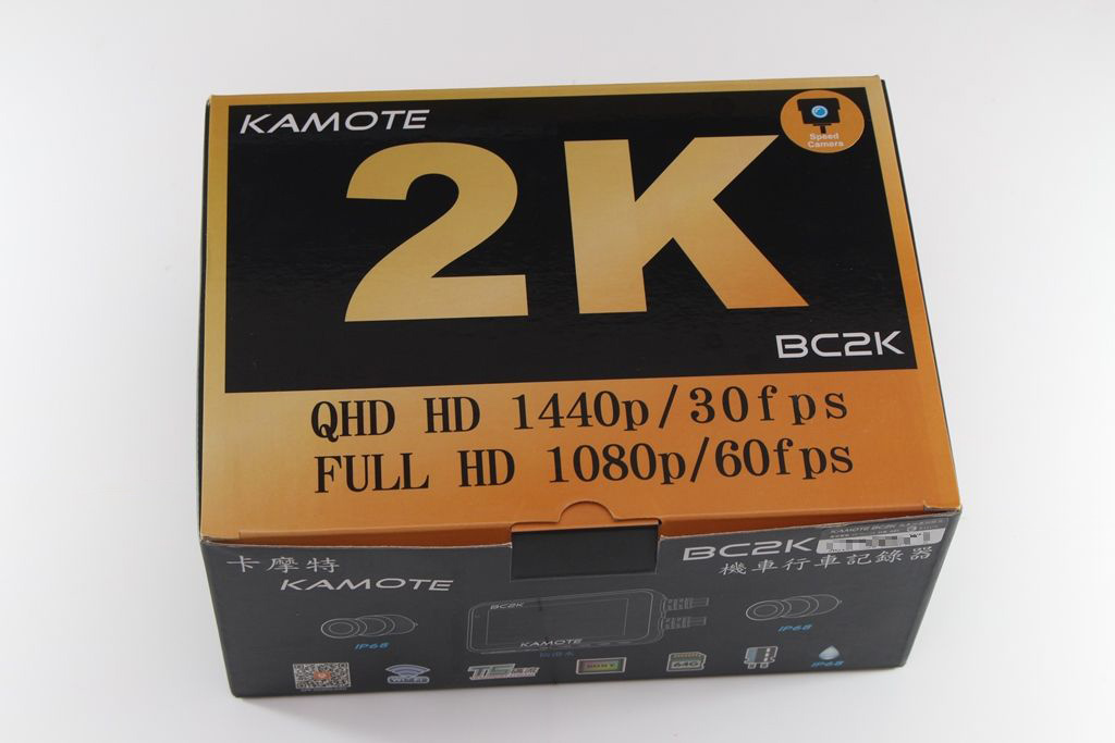 卡摩特Kamote BC2K 雙2K解析度機車行車紀錄器-高清高解析,...2885