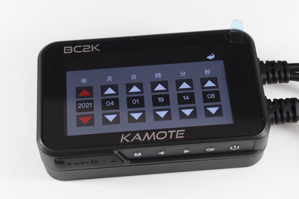 卡摩特Kamote BC2K 雙2K解析度機車行車紀錄器-高清高解析,...7493