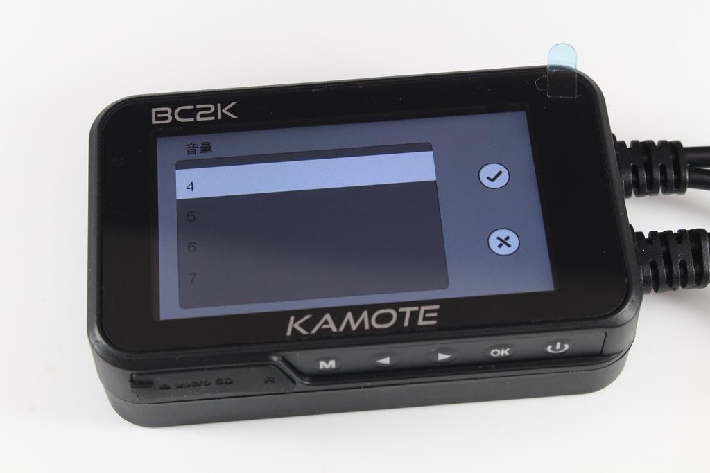 卡摩特Kamote BC2K 雙2K解析度機車行車紀錄器-高清高解析,...4778