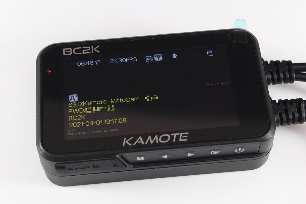 卡摩特Kamote BC2K 雙2K解析度機車行車紀錄器-高清高解析,...3842