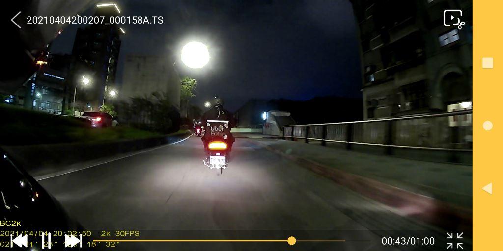 卡摩特Kamote BC2K 雙2K解析度機車行車紀錄器-高清高解析,...9919
