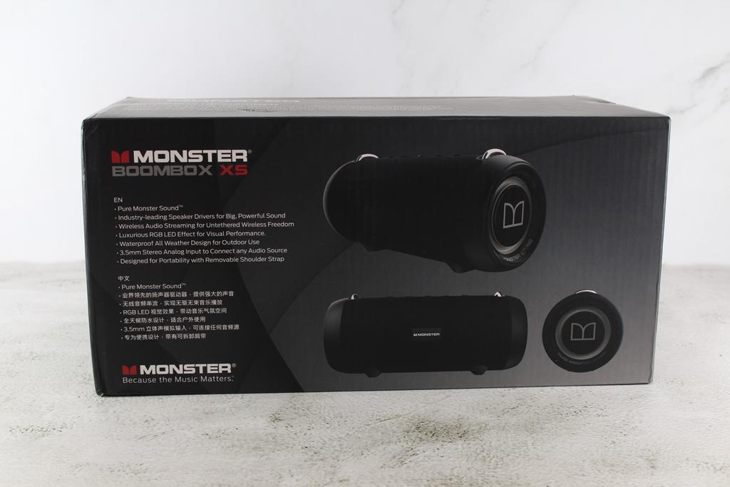 魔聲Monster BoomBox XS真無線重低音防水藍牙喇叭-40W大功率重...6202