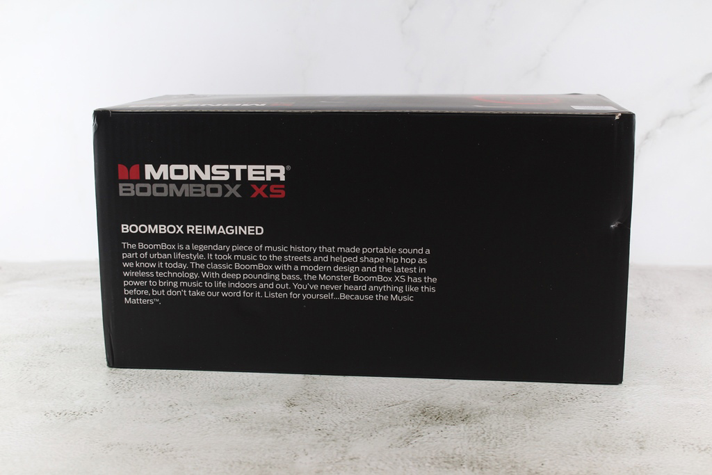 魔聲Monster BoomBox XS真無線重低音防水藍牙喇叭-40W大功率重...4122