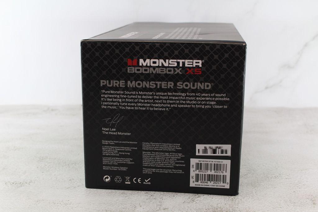 魔聲Monster BoomBox XS真無線重低音防水藍牙喇叭-40W大功率重...1628