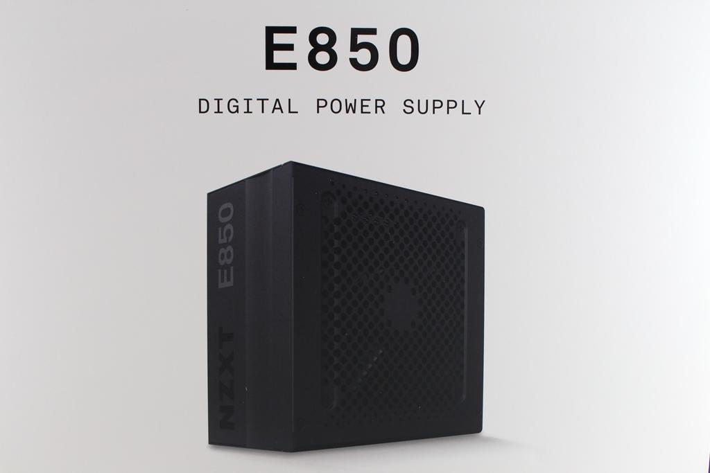 恩傑 NZXT E850 850W 金牌全模組化數位電源供應器-CAM軟體即...108