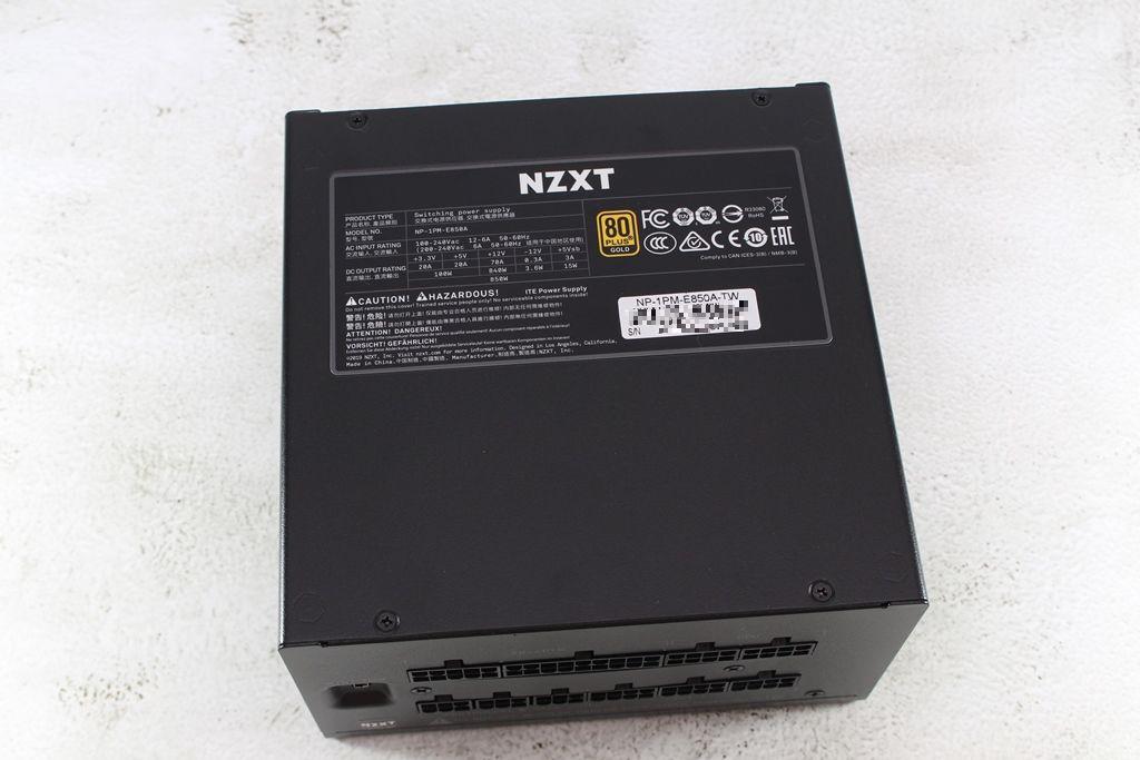 恩傑 NZXT E850 850W 金牌全模組化數位電源供應器-CAM軟體即...311