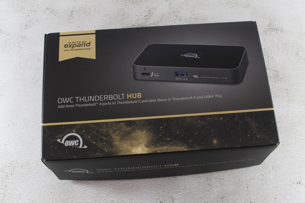 OWC Thunderbolt Hub-最新Thunderbolt 4擴充神器,再多裝置也不怕!5334