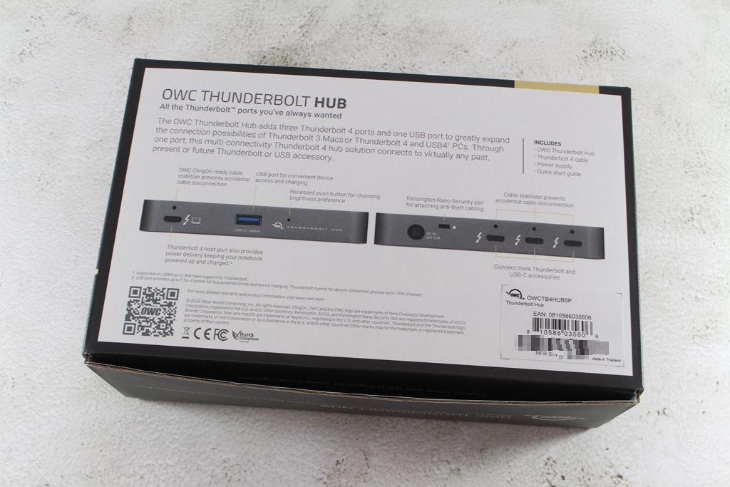OWC Thunderbolt Hub-最新Thunderbolt 4擴充神器,再多裝置也不怕!4604