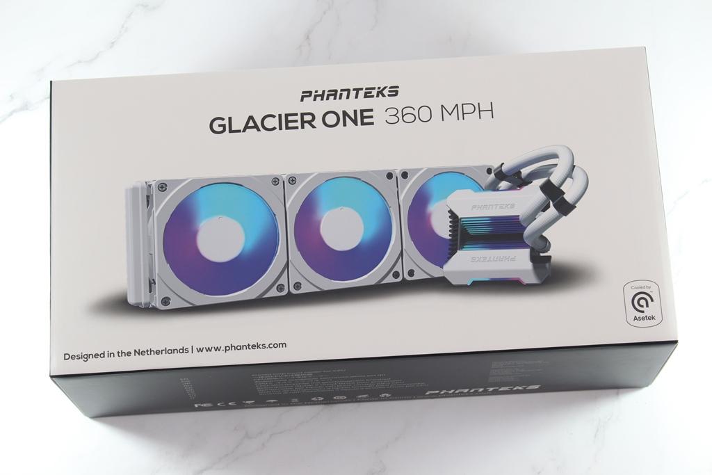 追風者Phanteks Glacier One 360 MPH一體式水冷散熱器-搭載Asetek...1821
