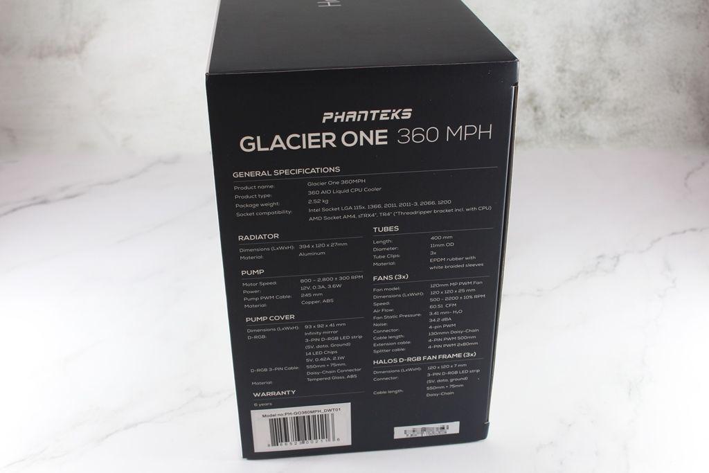 追風者Phanteks Glacier One 360 MPH一體式水冷散熱器-搭載Asetek...5652