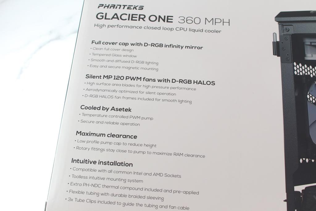 追風者Phanteks Glacier One 360 MPH一體式水冷散熱器-搭載Asetek...9049