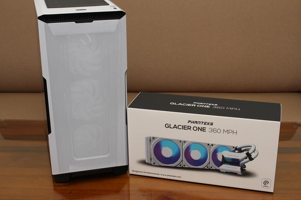 追風者Phanteks Glacier One 360 MPH一體式水冷散熱器-搭載Asetek...8014