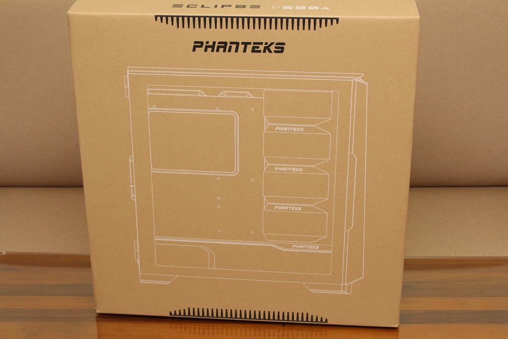 追風者Phanteks Eclipse P500A DRGB開門式鋼化玻璃透側機殼-簡潔...8872