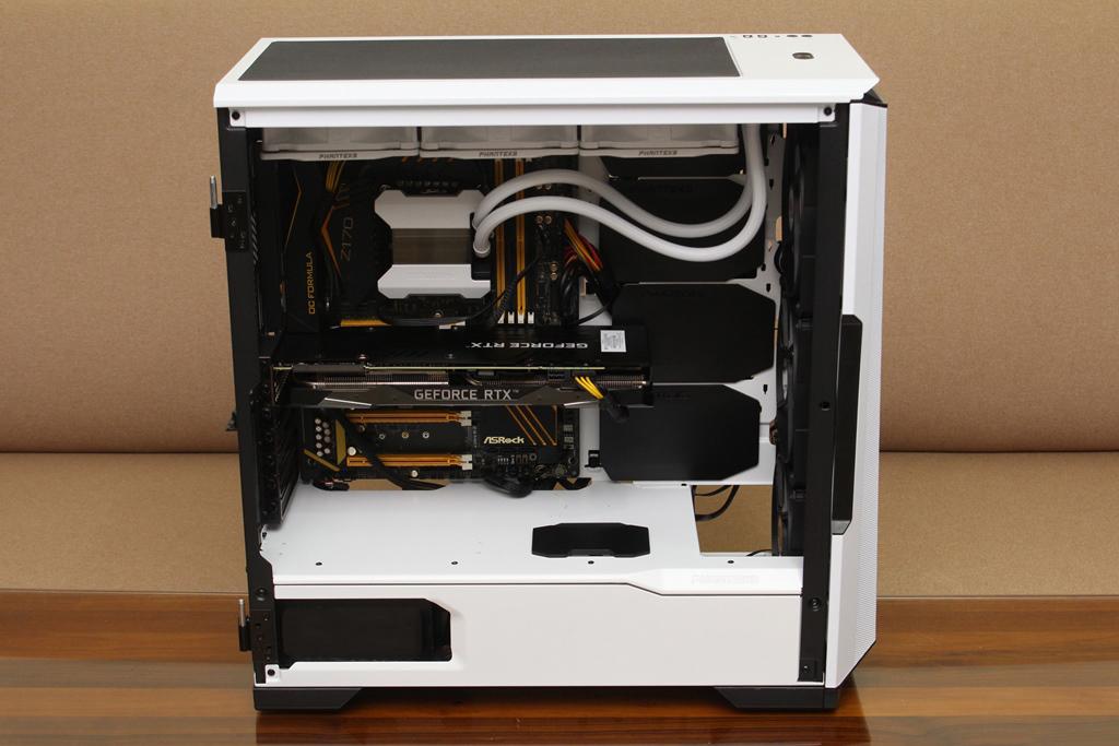 追風者Phanteks Eclipse P500A DRGB開門式鋼化玻璃透側機殼-簡潔...7134