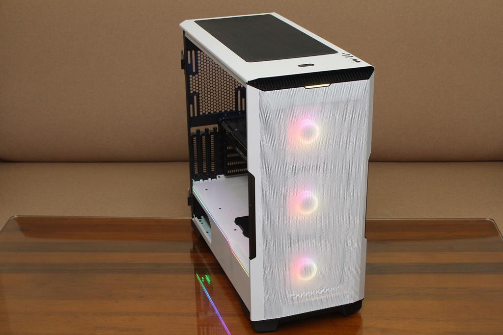 追風者Phanteks Eclipse P500A DRGB開門式鋼化玻璃透側機殼-簡潔...1663