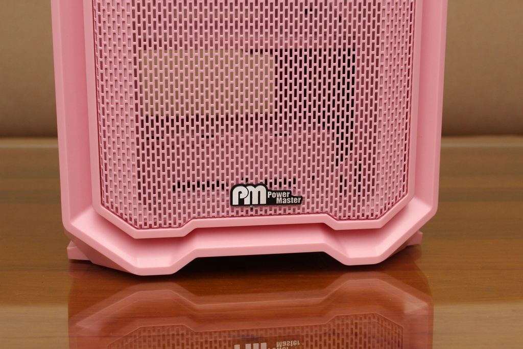 亞碩Power Master M2 mATX鋼化玻璃透側機殼-繽紛少女心,擴充...3375