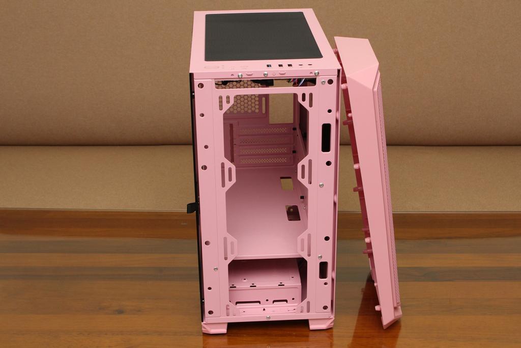 亞碩Power Master M2 mATX鋼化玻璃透側機殼-繽紛少女心,擴充...4584